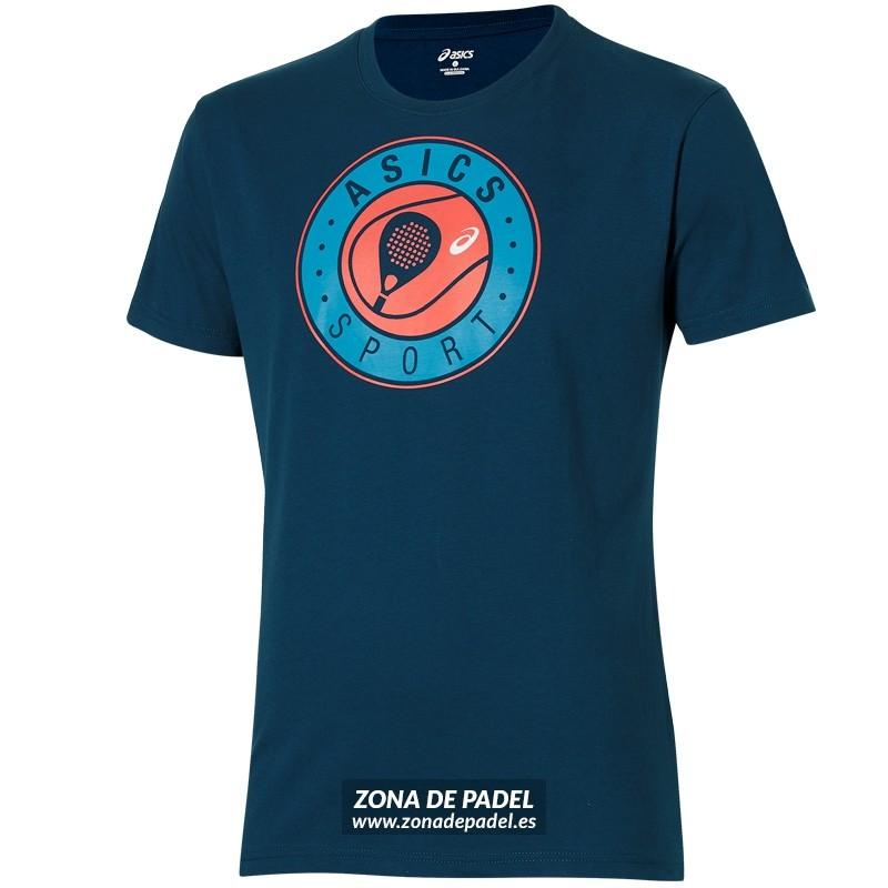 Camiseta Asics Logo SS Graphic Top Ink Blue 2016
