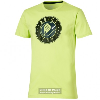 Camiseta Logo SS Graphic Top Neon Lime 2016