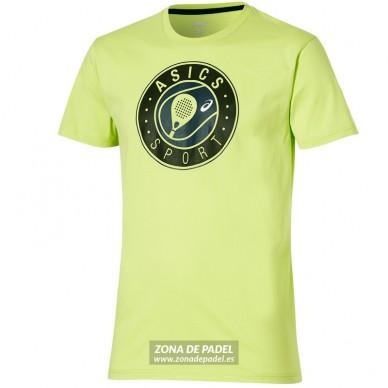 Camiseta Logo SS Graphic Top Neon Lime 2016