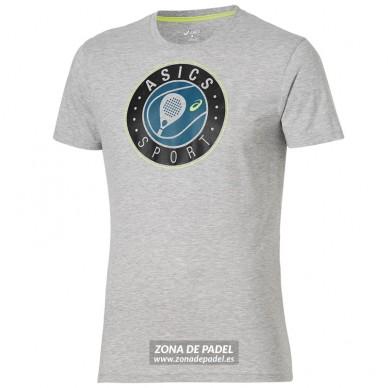 Camiseta Logo SS Graphic Top Grey Heather 2016