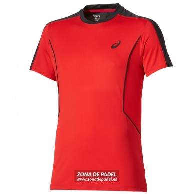 Camiseta Padel SS Top Fiery Red 2016