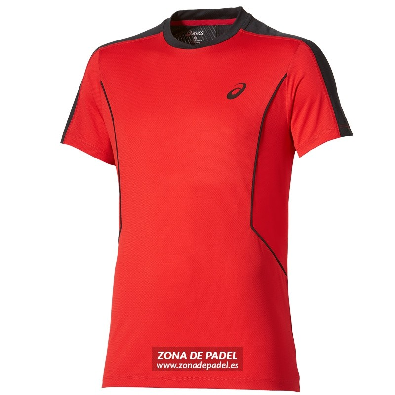 Camiseta Asics Padel SS Top Fiery Red 2016