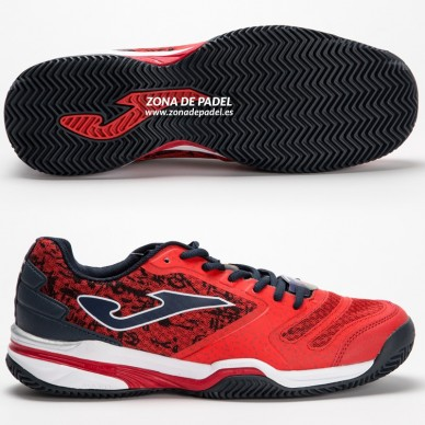 Zapatillas T.Slam Clay Rojo 2016