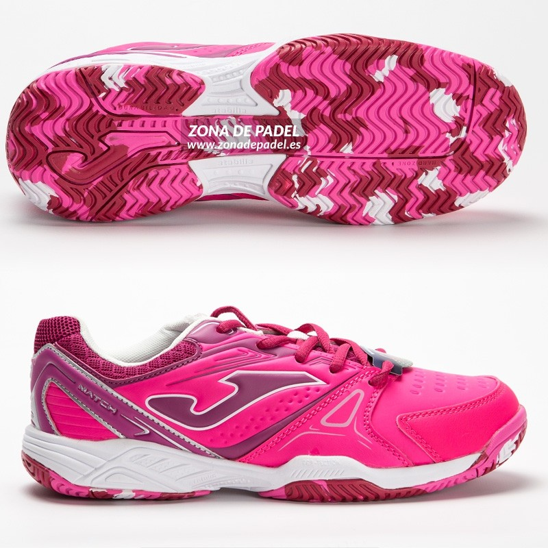 Zapatillas joma Junior Match Rosa 2016
