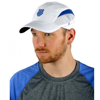 Gorra K-swiss Blanca y azul