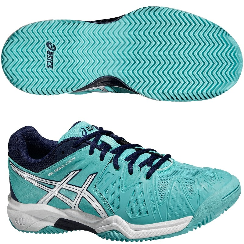 Zapatillas Asics Gel Resolution 6 Pool Blue 2016