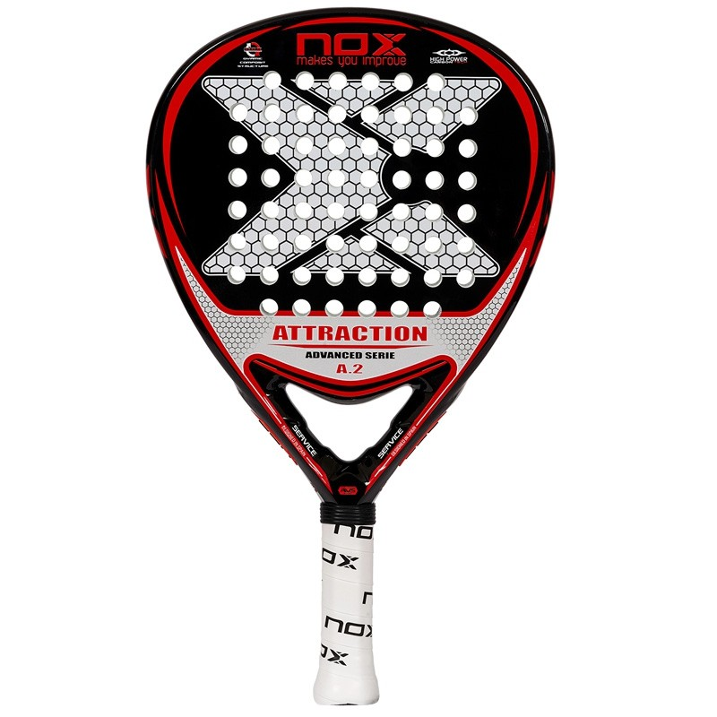 Pala de padel nox Atraction A.2 2017