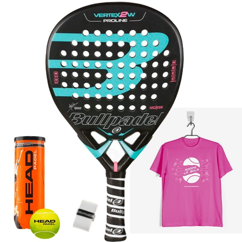 Pala Bullpadel Vertex 2 Woman 2017