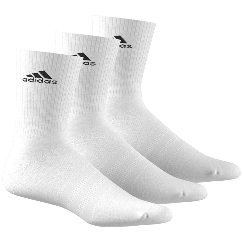 Pack 3 calcetines Adidas Blancos