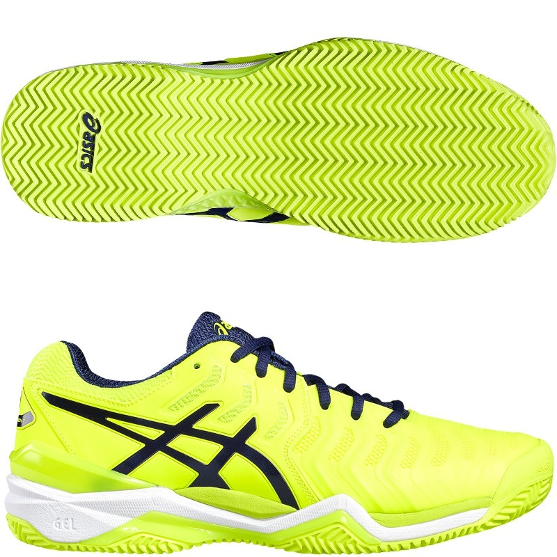 Zapatillas Asics Gel Resolution 7 Safety Yellow 2017