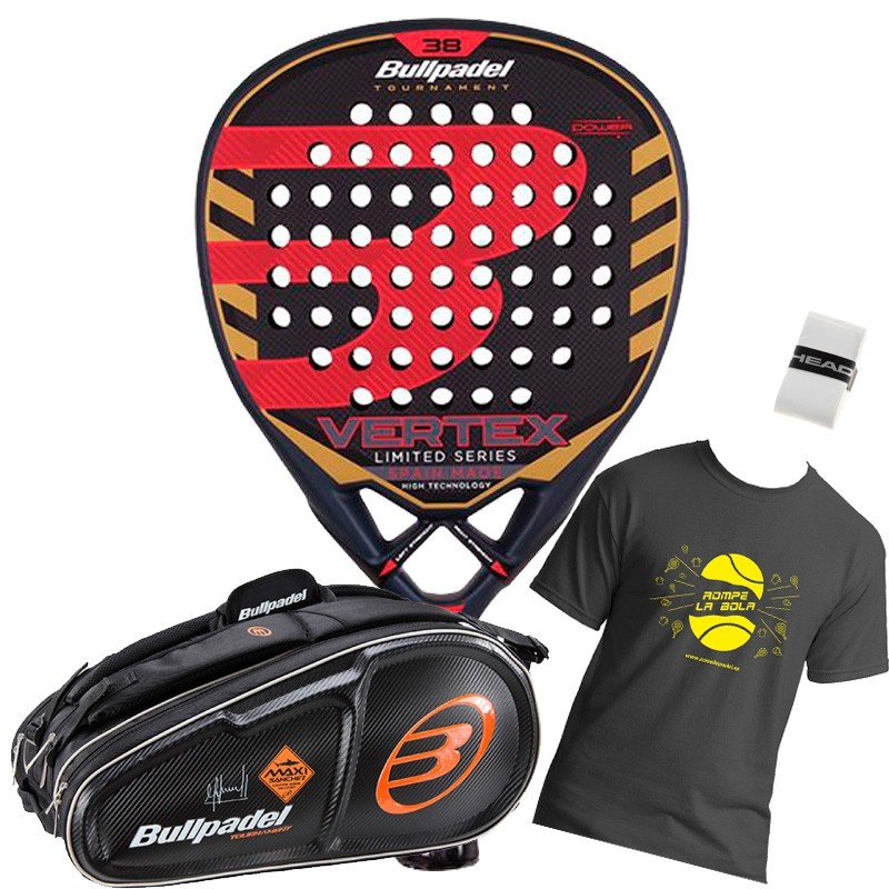 Pack Bullpadel Vertex edición limitada