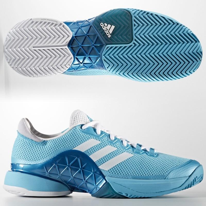 zapatillas blanco Barricade Adidas Samblu 2017 Azul y 7yIYfvbg6