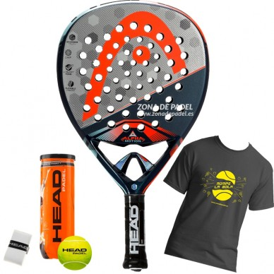 Palas de padel Head Graphene Touch Alpha Motion 2017