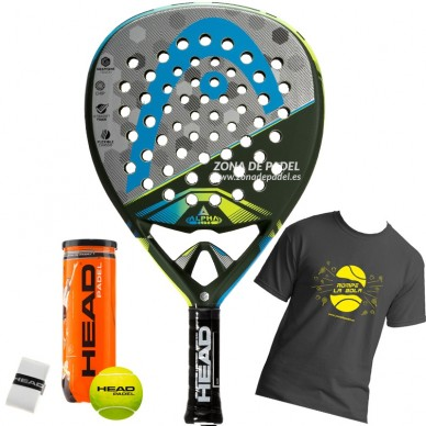 Palas de padel Head Graphene Touch Alpha Elite 2017
