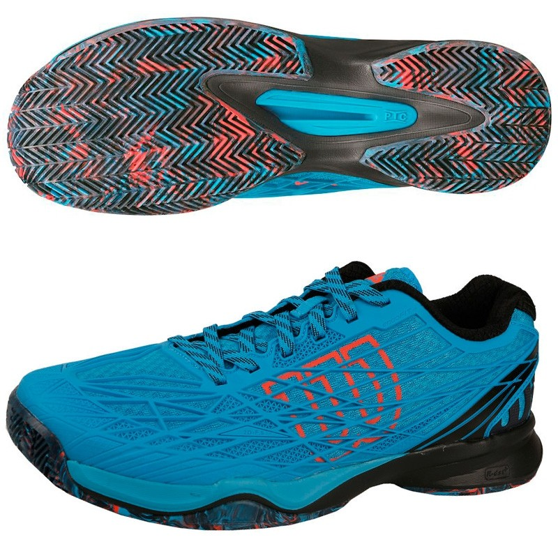 Zapatillas Wilson Kaos Clay Court Hawaiian O/BK/Fiery