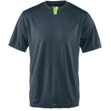Camiseta M SU Henley Ebony / Green 2017