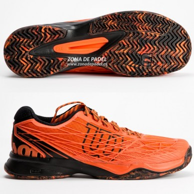 Zapatillas Kaos Clay Court Flame Black 2017
