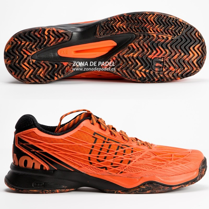 Zapatillas Wilson Kaos Clay Court Flame Black 2017