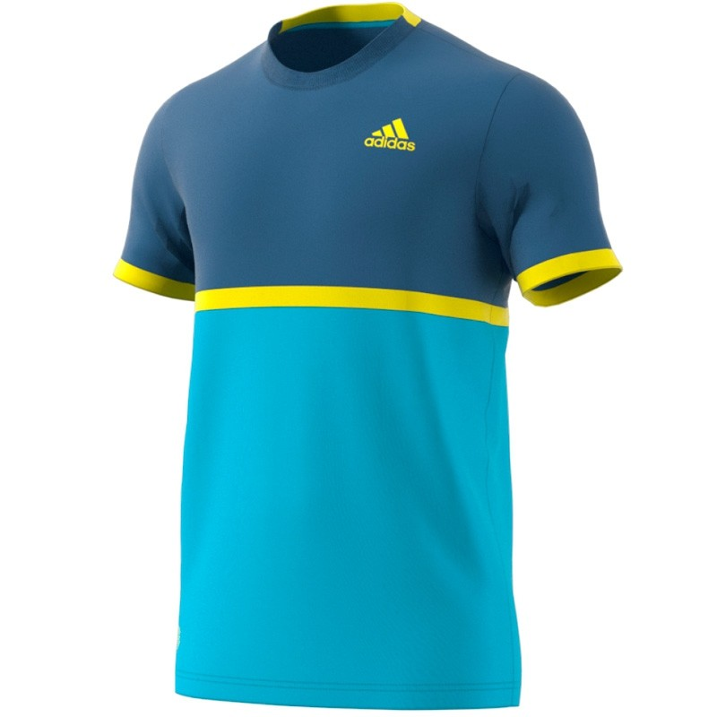 Camiseta Adidas Court Energy Blue 2017