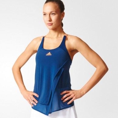 Adidas Camiseta Tirantes ML Blue 2017
