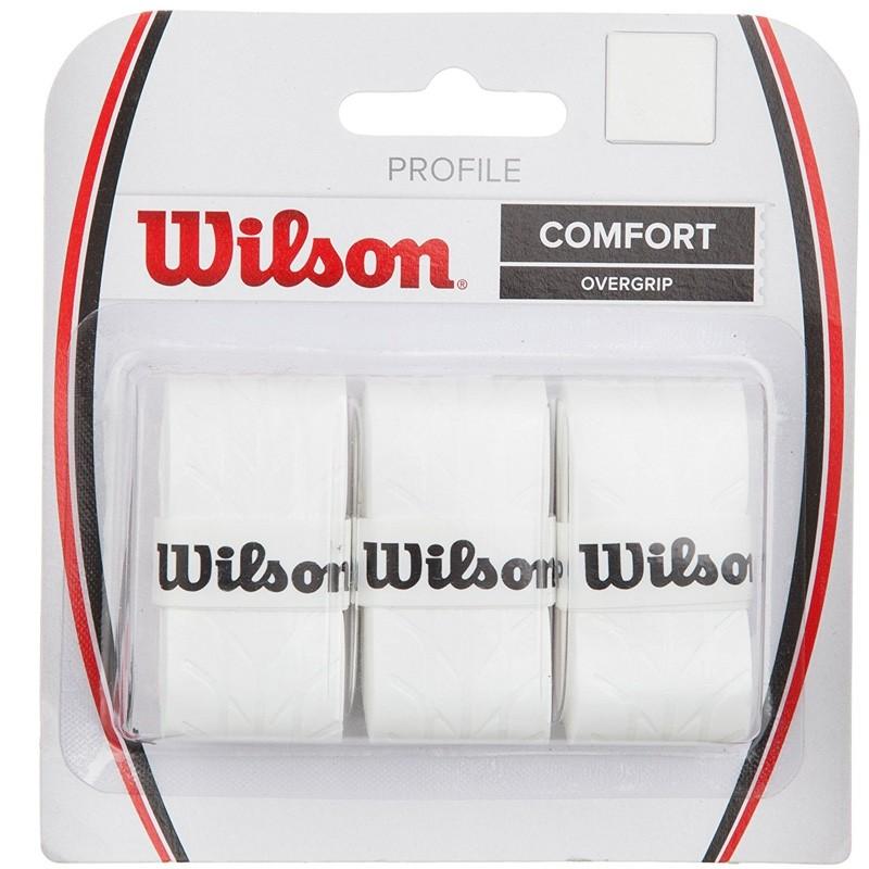 Overgrip Wilson Confort Profile blancos