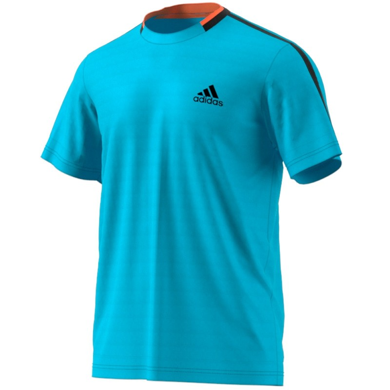Camiseta Adidas Essex Samblu / Black 2017