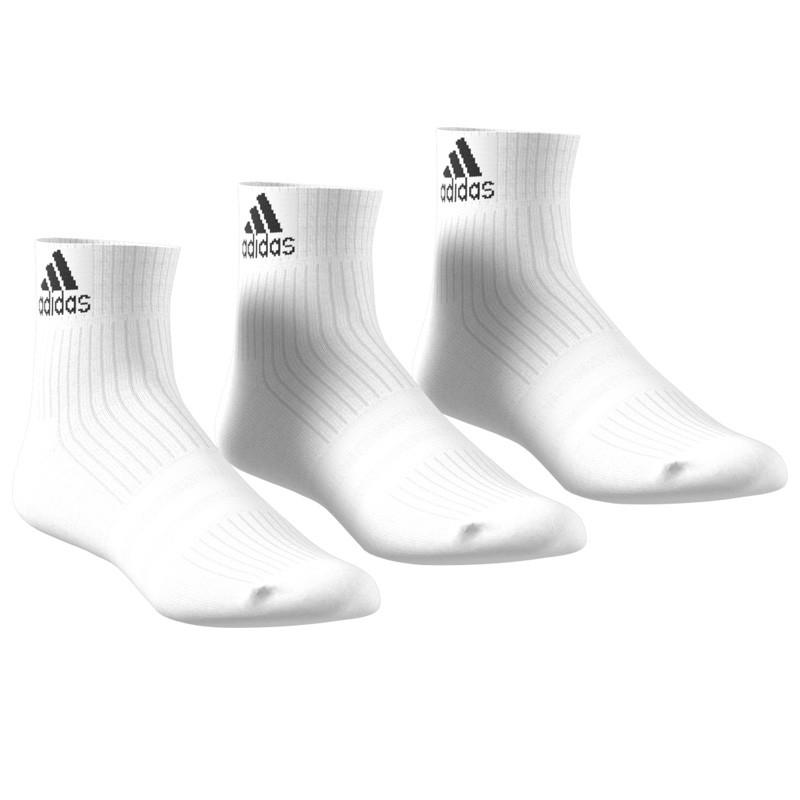 Pack 3 calcetines Adidas Blancos cortos