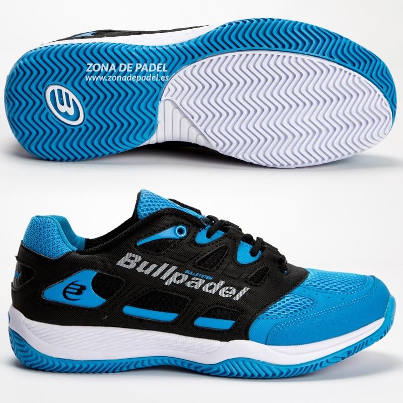Zapatilla Bullpadel Burton Azul Celeste 2017