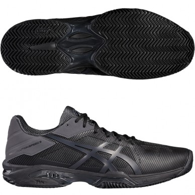 Zapatillas Gel Solution Speed 3 Black 2017