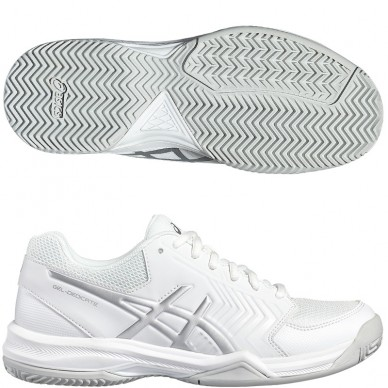 Zapatillas Gel Dedicate 5 Woman White/Silver 17