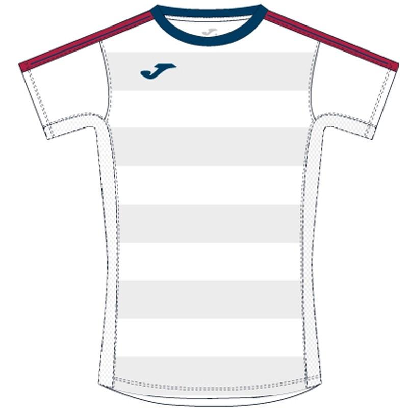 Camiseta Joma Granada Blanco-Marino 2017
