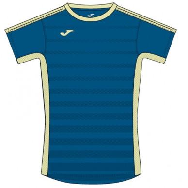Camiseta Tenis Azul-Amarillo 2017