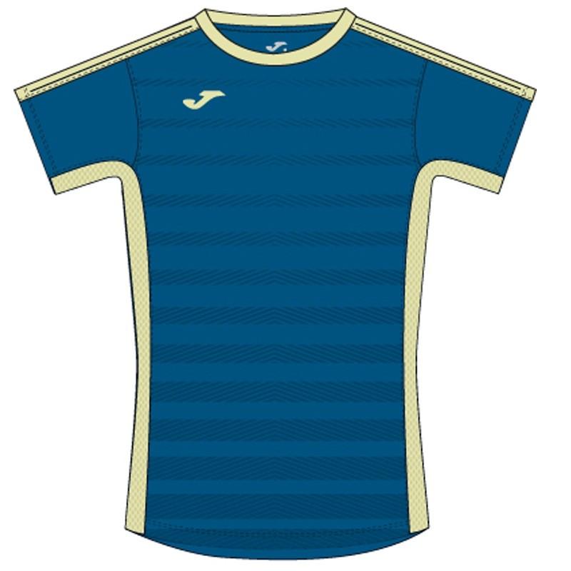 Camiseta Joma Tenis Azul-Amarillo 2017