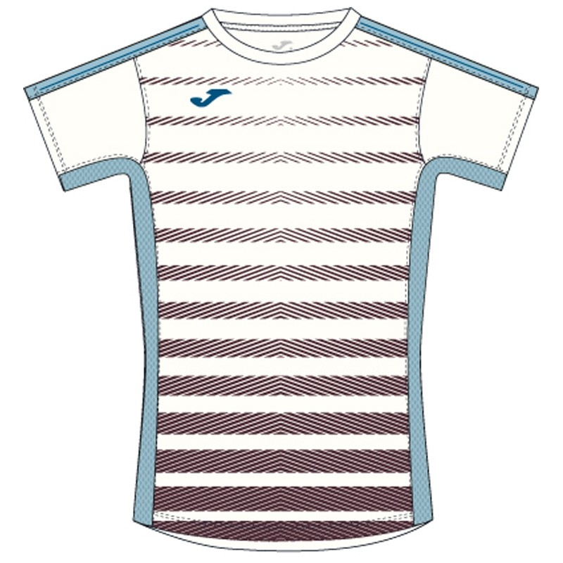 Camiseta Joma Tenis Blanco-Marron 2017