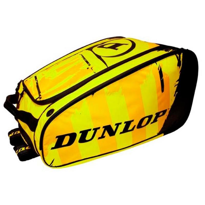 Paletero Dunlop Pro Black Yellow 2017