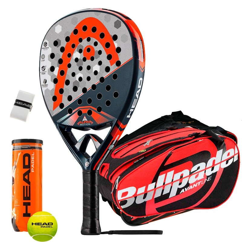 Pack Head Graphene Touch Alpha Motion Bullpadel