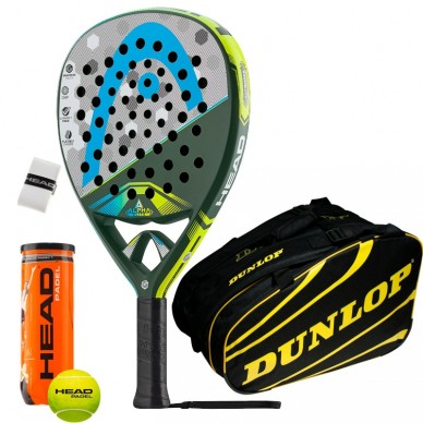 Head Pack Graphene Touch Alpha Elite Dunlop Amarillo