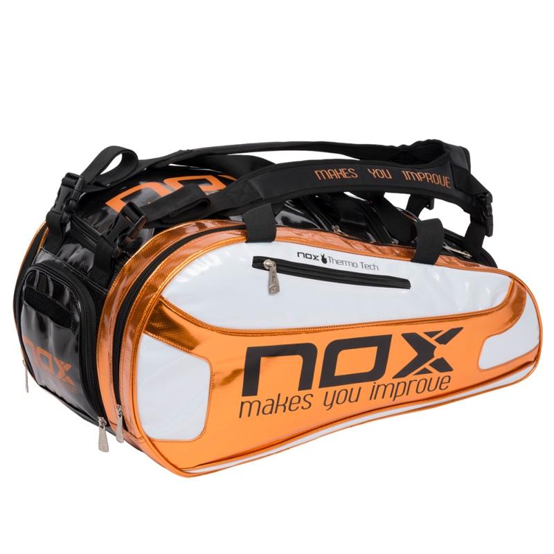 12984e84 Comprar Paletero Nox Thermo Naranja 2017 - Zona de Padel