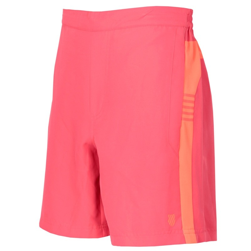 Pantalon kswiss corto BB Game Rose/Neon Blaze