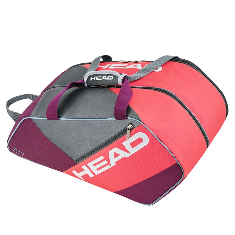 Paletero Head Elite Padel Supercombi Morado/Rosa