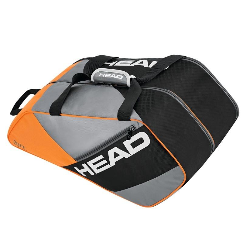 Paletero Head Elite Padel Supercombi Gris/Naranja