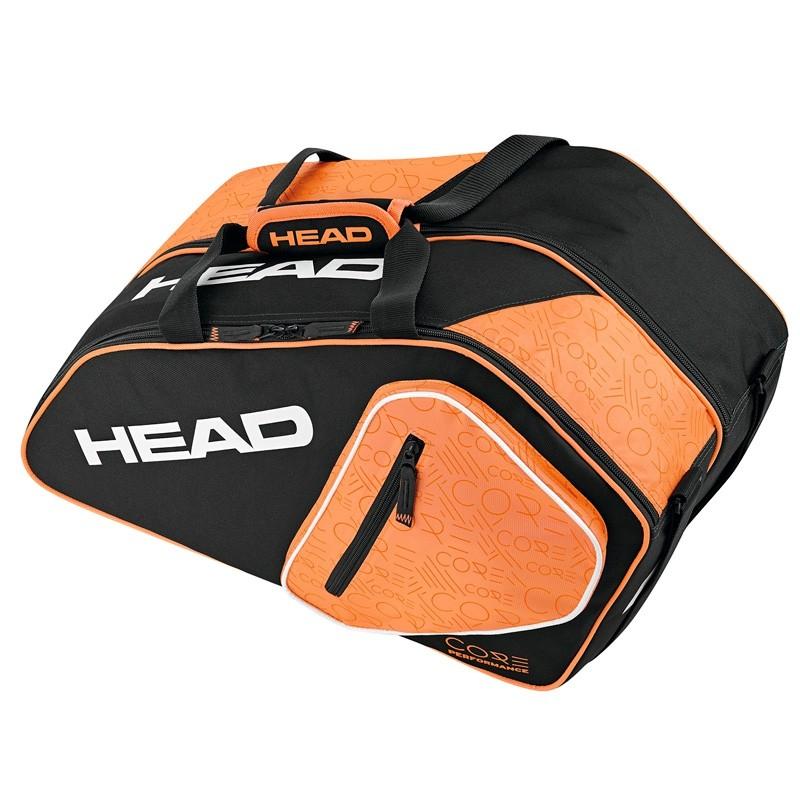 Paletero Head Core Padel Combi Negro/Naranja