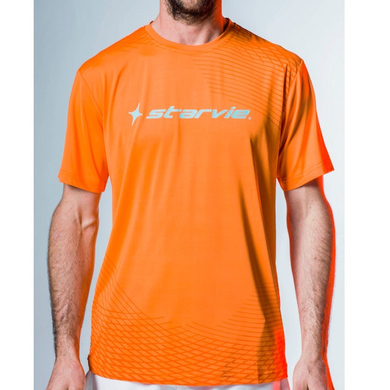 Camiseta Starvie Net Orange