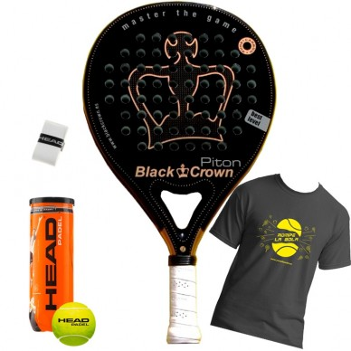 Palas de padel Black Crown Piton 2017