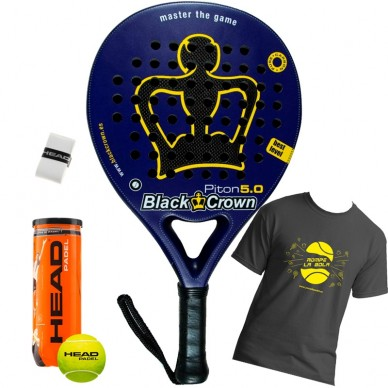 Palas de padel Black Crown Piton 5.0 2017