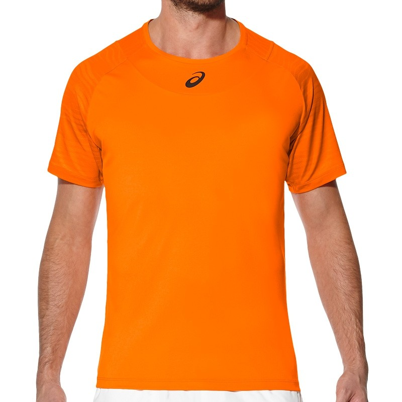 Camiseta Asics M Club GPX Top Orange Pop
