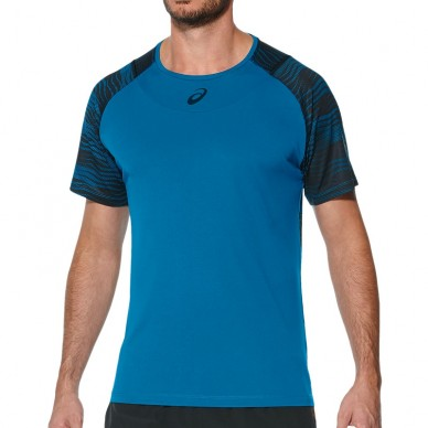 Camisetas de padel  M Club GPX Top Thunder Blue 2017