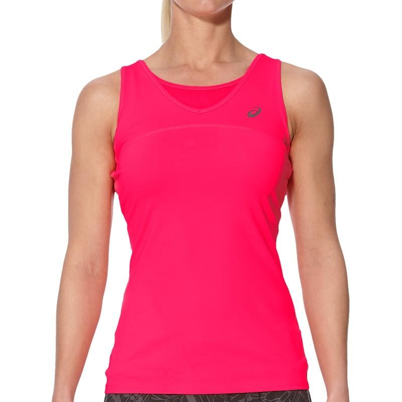 Camiseta Asics W Athlete Tank Diva Pink : Talla - XS