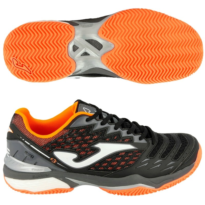 Zapatillas Joma T.ACE 701 Negro Clay