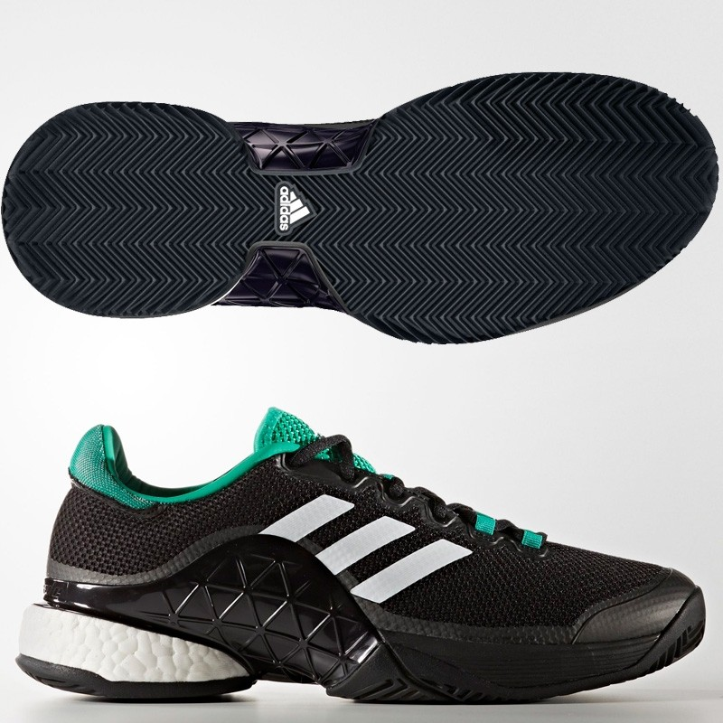 Zapatillas Adidas Barricade Boost black 2017
